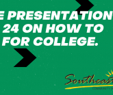 Free Presentation Feb. 24 on How to Pay for College.