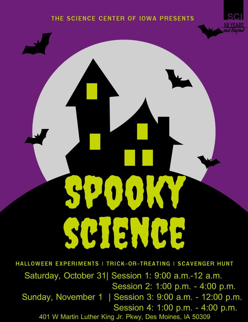 Spooky Science Flyer 1