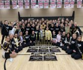 RhythAMettes Team with Trophies