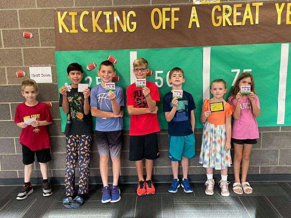 Mitchellville Kindness PBIS winners